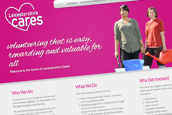 Simple editable website £750