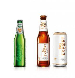 Carlsberg Export Rebrand Bottles