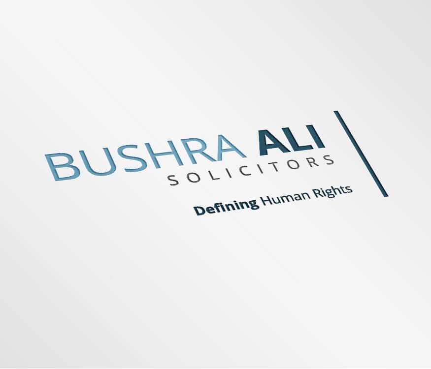 Bushra Ali Logo square