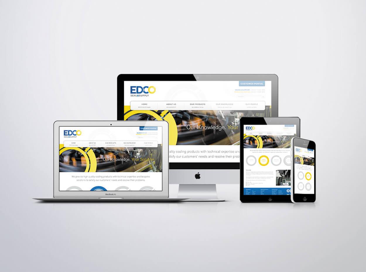 EDCO Sample Website