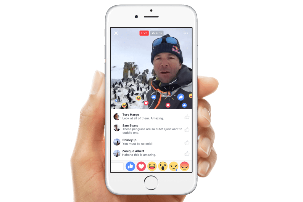 Facebook Live Trends of 2017