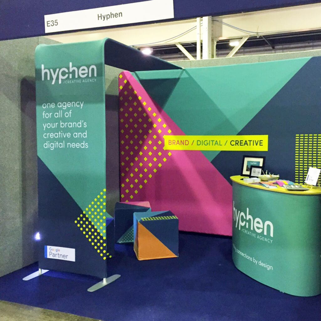 hyphen exhibition stand