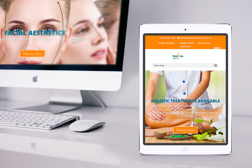 Head to Toe Treatments Website
