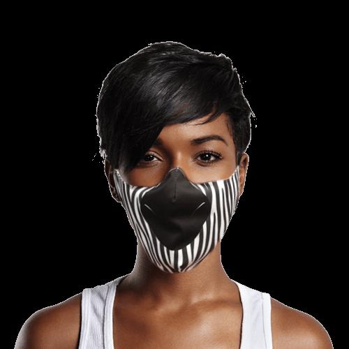 covid mask zebra